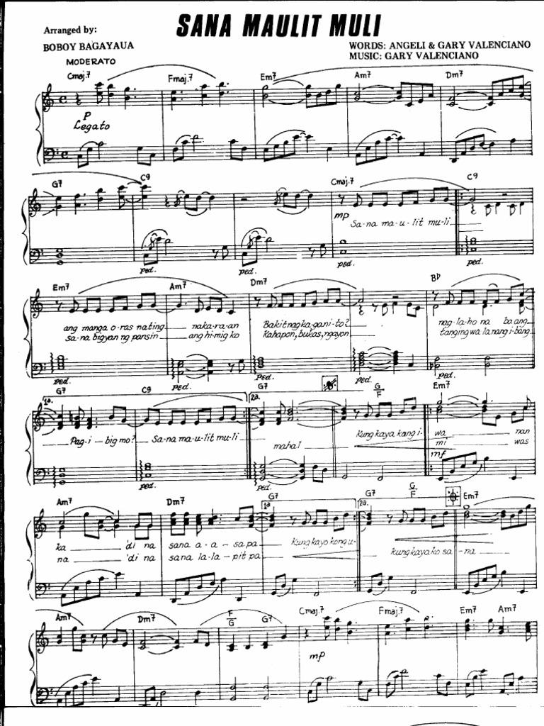 Piano music sheets one last cry brian mcknight gary valenciano sana maulit muli hexwebz Image collections