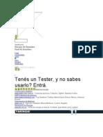 Manual Como Usar Tester - Multi Metro