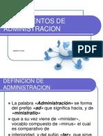 Fundamentos de Admin is Trac Ion Recursos