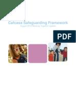 Cafcass Safeguarding Framework Working Together 12-08-10
