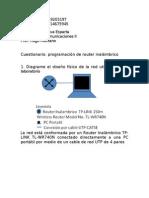 Cuestionario configuracion router