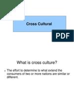 Cross Culture CB