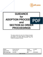 1 Guidance for Adoption and Section 84 Proceedings