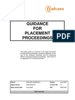 2 Guidance for Placement Proceedings