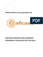 1 Practice Guidance for Guardians Appointing a Solicitor for the Child [2]