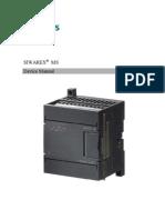Manual Siwarex MS en 34