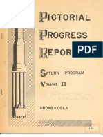 Pictorial Progress Report of the Saturn Launch Vehicle Develpment Vol II