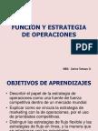 Funcion y Estrategia de Operaciones