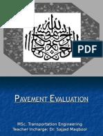 Pavement Evaluation by Saadia