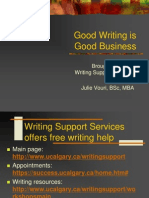 MBA - Good Writing is Good Business