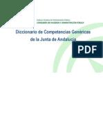 Diccionario_competencias Junta Andalucia