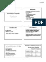 Introdução À Fitoterapia - O Papel Do Farmacêutico Na Fitoterapia - Legislação De Fitoterápicos - Milleno D. Mota - Fitoterapia - UNIME