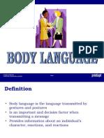 Training Body Language