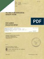 The TIROS 6 Meteorological Satellite System