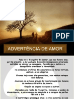 De Advertência de Amor