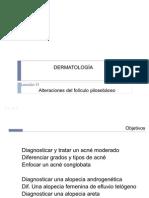 Alteraciones del folículo pilosebáceo