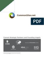 Common Sites Brochure 20110902(1)