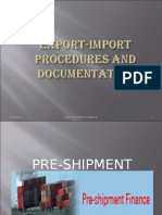 26186495 Export Import Procedure and Documentation