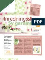 Inredningsskolan4 - Sy Gardiner Eller Hiss Gar Diner