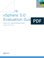 VMware vSphere Evaluation Guide 2 Advanced Storage