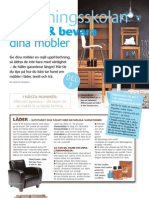 Inredningsskolan7 - Vårda o Bevara Dina möbler