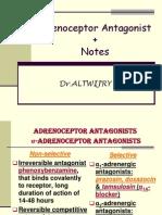 15- Adrenoceptor Antagonists 2003-97