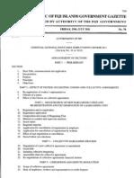 Fiji Essential Industries Decree 35,2011
