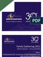 General Information - BINUS Family Gathering 2011 v2