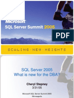 04 SQL Summit DBA Internals