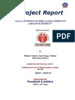 Project Prashant Mishra