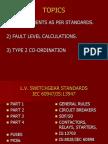 Type 2 Co Ordination in LV switchgear