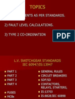 Type 2 Co Ordination in LV switchgear