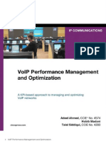 Voip-performance Management and Optimization
