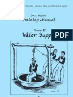 Water Supply Small Projects Training Manual