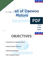 65376881 Daewoo Motors Presentation Final