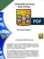 Lixiviacin en Pilas