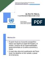 Experiencia Chilena en Finanzas Públicas