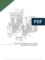 Gradateur CI-Tronic Analogue Power Controller Type ACI 30-1 and ACI 50-1