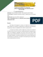 DESARROLLO DE LA COMUNICACIÓN INSTITUCIONAL EN EL TERCER SECTOR