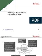 Mechanism and Actuators