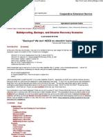 Oracle Bulletproofing, Back... - 20080814112617