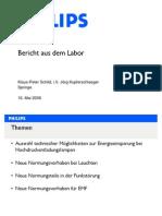 Energiesparsysteme Bericht Aus Dem Philips Labor