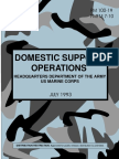 Field Manual 100-19 DOMESTIC SUPPORT OPERATIONS