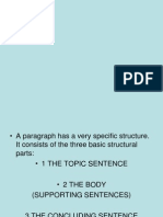 How to Write Paragraph 1
