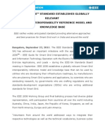 NEW IEEE 2030TM STANDARD ESTABLISHES GLOBALLY RELEVANT SMART GRID INTEROPERABILITY REFERENCE MODEL AND KNOWLEDGE BASE