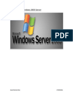 Uso Inicial de Windows 2003 Server
