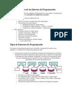 Funciones de un Entorno de Programación