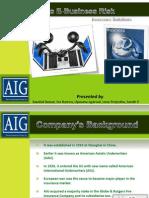 AIG's E-Business Risk