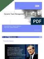 IBM Software Group - Dynamic Team Management