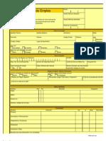 Solicitud de Empleo Print a Form